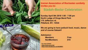 Sizdah-Bedar Celebration 2018